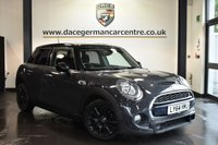 """USED 2015 64 MINI HATCH COOPER 2.0 COOPER SD 5DR 168 BHP Finished in a stunning thunder metallic grey styled with 16"""" alloys. Upon opening the drivers door you are presented with anthracite upholstery, full service history, bluetooth, DAB radio, sport seats, Performance Control, MINI Connected, Radio MINI Visual Boost"""