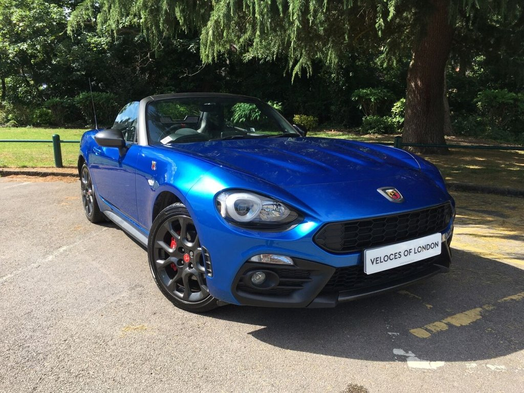 USED 2018 18 ABARTH 124 1.4 SPIDER MULTIAIR 2d 168 BHP £2270 OF FACTORY EXTRAS..