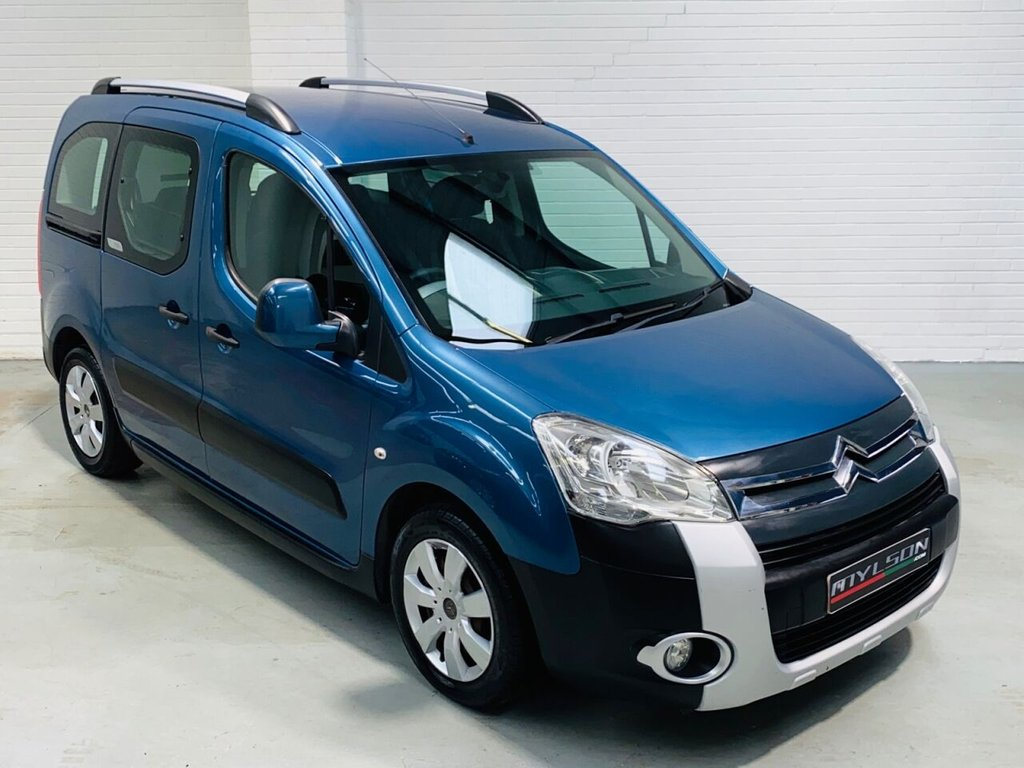 USED 2010 60 CITROEN BERLINGO 1.6L MULTISPACE XTR HDI 5d 109 BHP 12 Months MOT included, Service History, Air Con, Roof Rails