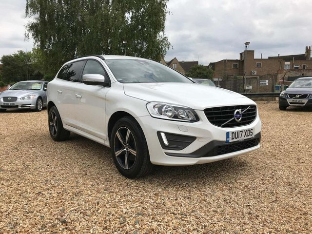 USED 2017 17 VOLVO XC60 2.0 D4 R-Design Nav Geartronic (s/s) 5dr Sat Nav & Full Heated Leather
