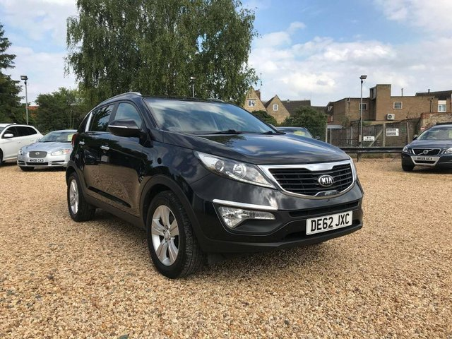 USED 2012 62 KIA SPORTAGE 1.7 CRDi 2 2WD 5dr Excellent Example Throughout