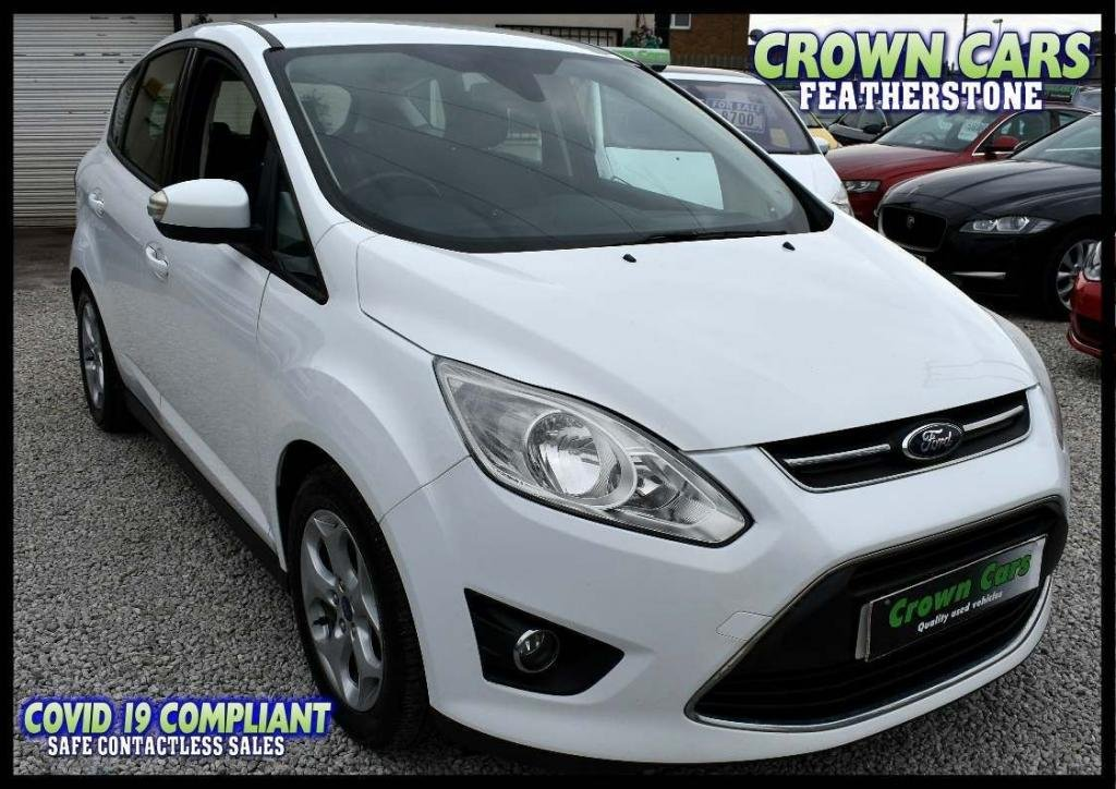 USED 2013 Y FORD C-MAX 1.6 TDCi Zetec 5dr AMAZING LOW RATE FINANCE