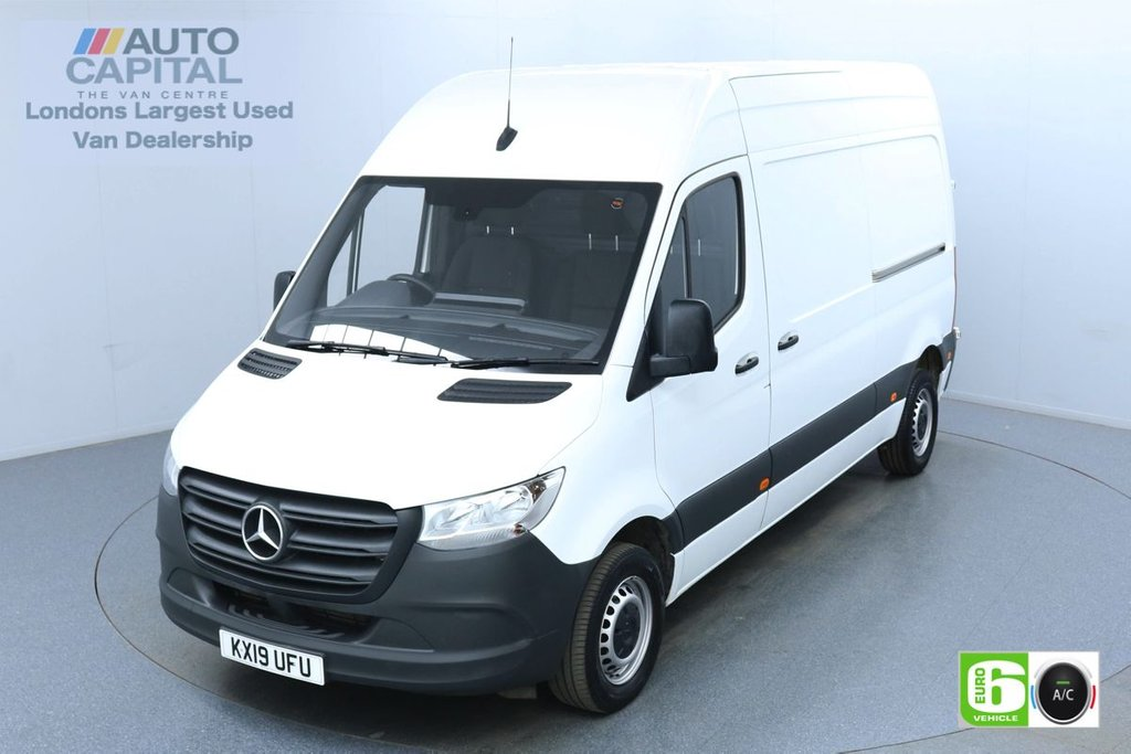 USED 2019 19 MERCEDES-BENZ SPRINTER 2.1 314 CDI 141 BHP L2 H2 MWB Euro 6 Low Emission Finance Available Online | Air Conditioning | Fully Sanitised Service | UK Delivery
