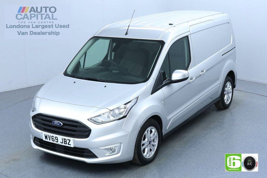 USED 2019 69 FORD TRANSIT CONNECT 1.5 240 Limited 120 BHP Auto L2 LWB 3 Seats Euro 6 Low Emission Finance Available Online | Fully Sanitised | Reserve Online Now | UK Delivery