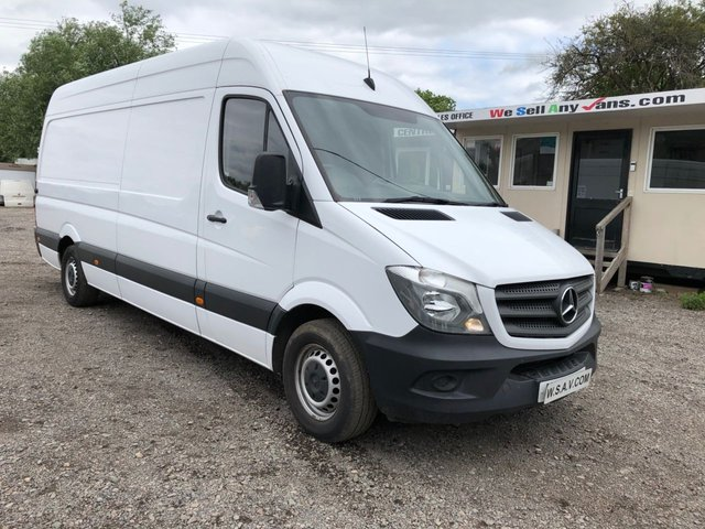 2015 65 MERCEDES-BENZ SPRINTER 2.1 313 CDI LWB 129 BHP only 50643 miles