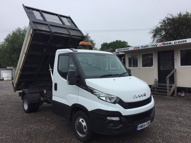 2015 64 IVECO DAILY 2.3 35C13 TIPPER 126 BHP