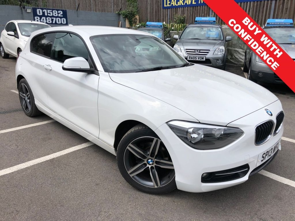 USED 2013 13 BMW 1 SERIES 1.6 114I SPORT 3d 101 BHP GREAT SERVICE HISTORY