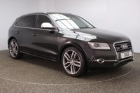 USED 2013 M AUDI SQ5 3.0 SQ5 TDI QUATTRO 5DR AUTO 309 BHP SERVICE HISTORY + LEATHER SEATS + SATELLITE NAVIGATION + PARKING SENSOR + BLUETOOTH + CRUISE CONTROL + CLIMATE CONTROL + MULTI FUNCTION WHEEL + PRIVACY GLASS + XENON HEADLIGHTS + ELECTRIC FRONT SEATS + DAB RADIO + ELECTRIC WINDOWS + ELECTRIC/HEATED DOOR MIRRORS + 21 INCH ALLOY WHEELS