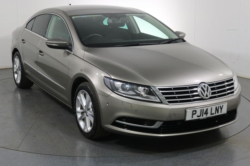 USED 2014 14 VOLKSWAGEN PASSAT CC 1.4 TSI BLUEMOTION TECHNOLOGY 4d 158 BHP ONE OWNER with 5 Stamp SERVICE HISTORY