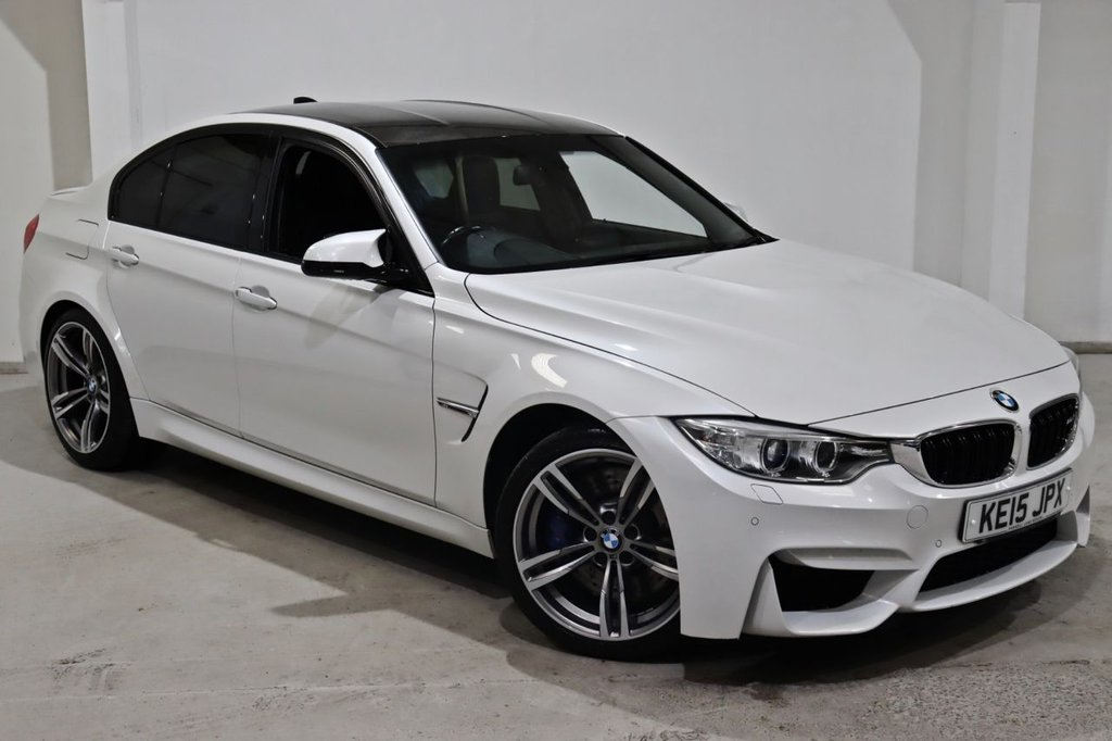 USED 2015 15 BMW M3 3.0 M3 4d 426 BHP