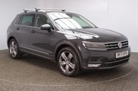 USED 2017 17 VOLKSWAGEN TIGUAN 2.0 SEL TDI BMT 5DR 1 OWNER 148 BHP SERVICE HISTORY + HEATED LEATHER SEATS + PANORAMIC ROOF + SATELLITE NAVIGATION + BLUETOOTH + CRUISE CONTROL + CLIMATE CONTROL + MULTI FUNCTION WHEEL + DAB RADIO + ELECTRIC WINDOWS + ELECTRIC/HEATED/FOLDING DOOR MIRRORS + ALLOY WHEELS
