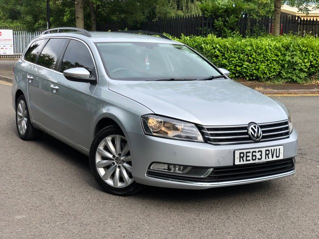 2013 63 VOLKSWAGEN PASSAT 2.0 HIGHLINE TDI BLUEMOTION TECHNOLOGY DSG 5d 139 BHP