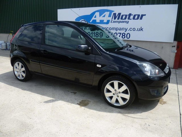 2007 57 FORD FIESTA 1.6 TDCi Zetec Climate 3dr