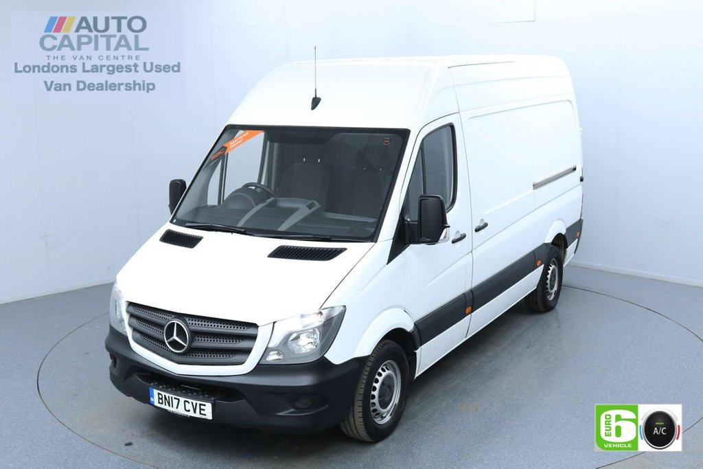 USED 2017 17 MERCEDES-BENZ SPRINTER 2.1 316 CDI 163 BHP Auto L2 H2 MWB Euro 6 Low Emission Finance Available Online | Air Con | Digital Tachograph | Rear Tow Fitted