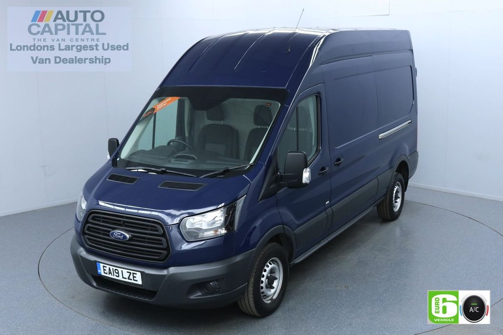 USED 2019 19 FORD TRANSIT 2.0 350 RWD L3 H3 130 BHP Euro 6 Low Emission Finance Available Online | Air Conditioning | UK Delivery