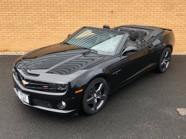2013 13 CHEVROLET GMC CAMARO SS // 6.2L V8 // CONVERTIBLE // AMERICAN MUSCLE // PX SWAP