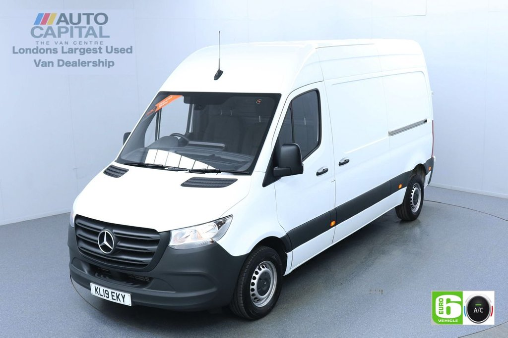 USED 2019 19 MERCEDES-BENZ SPRINTER 2.1 314 CDI 141 BHP L2 H2 MWB Euro 6 Low Emission Finance Available Online | Keyless | Air Con | UK Delivery