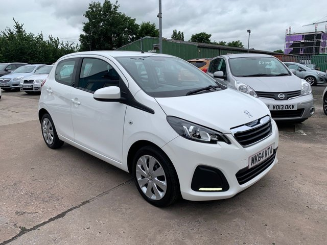 USED 2014 64 PEUGEOT 108 1.0 ACTIVE 5d 68 BHP FULL SERVICE HISTORY