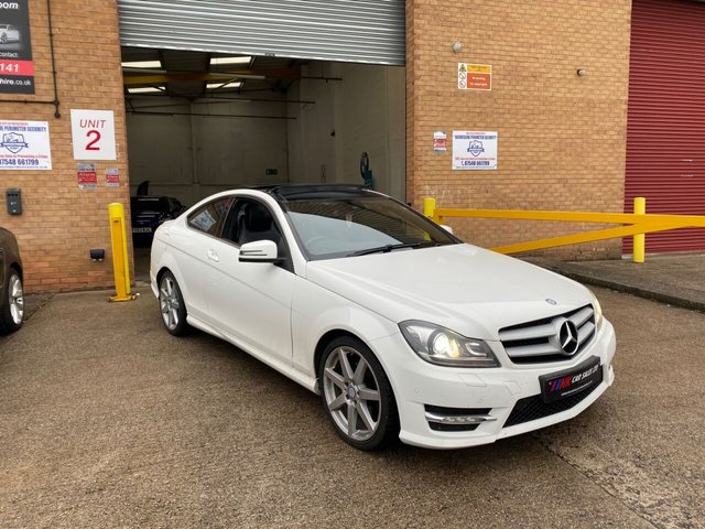 2014 64 MERCEDES-BENZ C-CLASS 2.1 C220 CDI AMG SPORT EDITION PREMIUM PLUS 2d 168 BHP SOLD  TO DAVID FROM WORCESTSHIRE