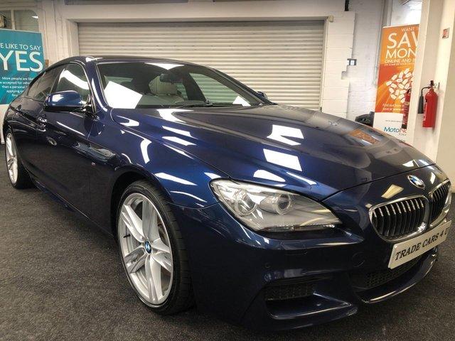 2014 BMW 6 SERIES 3.0 640D M SPORT GRAN COUPE 4d 309 BHP