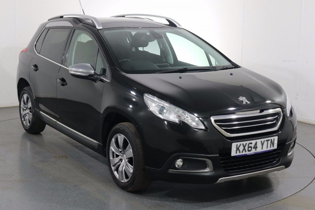 USED 2014 64 PEUGEOT 2008 1.6 E-HDI ALLURE 5d 92 BHP Company and ONE OWNER with 6 Stamp SERVICE HISTORY