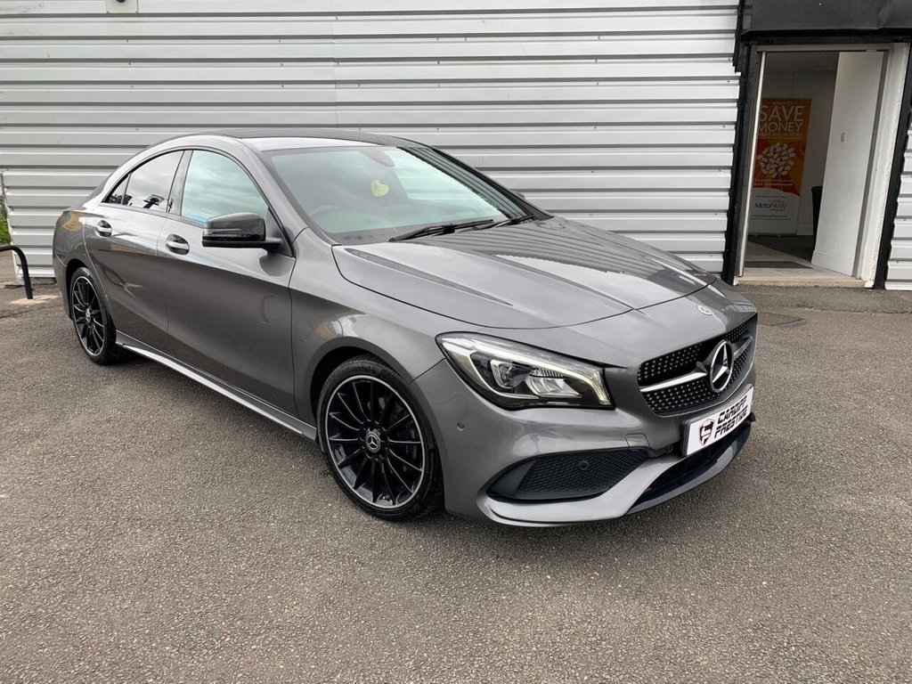 USED 2017 17 MERCEDES-BENZ CLA 1.6 CLA 180 AMG LINE 4d 121 BHP Night Pack + £1800 options!!