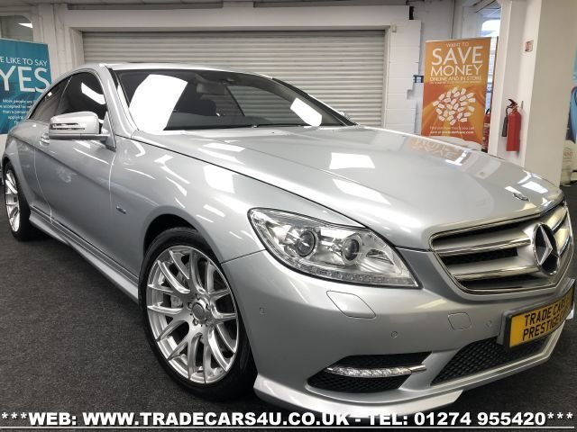 2011 J MERCEDES-BENZ CL 4.7 CL500 BLUEEFFICIENCY 2d 435 BHP