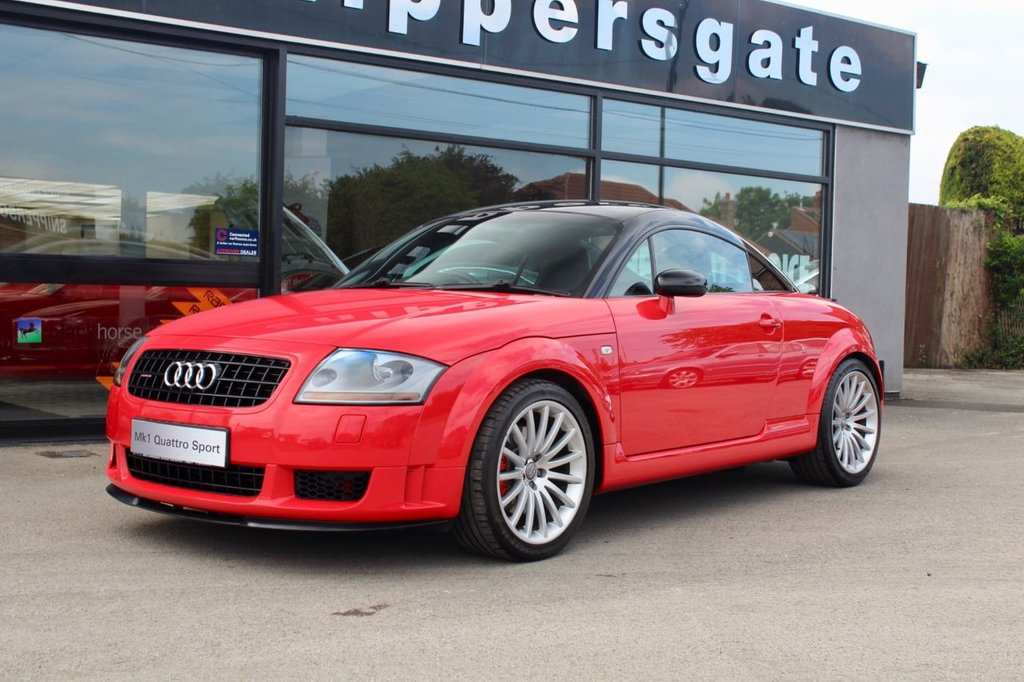 USED 2006 06 AUDI TT 1.8 QUATTRO SPORT 3d 240 BHP This is the limited edition Quattro Sport model, not to be confused with the standard TT Only 800 were sold in the UK.