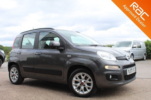 USED 2017 17 FIAT PANDA 1.2 LOUNGE 5d 69 BHP VIEW AND RESERVE ONLINE OR CALL 01527-853940 FOR MORE INFO.