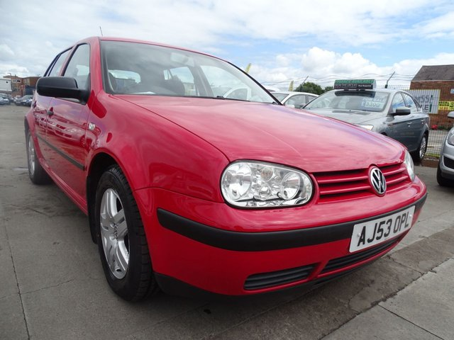 USED 2003 53 VOLKSWAGEN GOLF 1.6 MATCH 5d AUTOMATIC FSH