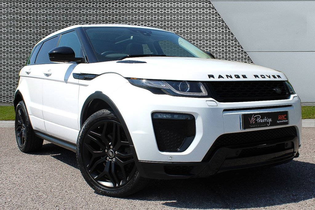 USED 2016 16 LAND ROVER RANGE ROVER EVOQUE 2.0 TD4 HSE DYNAMIC 5d 177 BHP **BLACK DESIGN PACK/PAN ROOF**