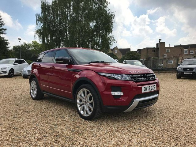 USED 2013 13 LAND ROVER RANGE ROVER EVOQUE 2.2 SD4 Dynamic Lux AWD 5dr T.V, Pan Roof, Blind Spot, Etc
