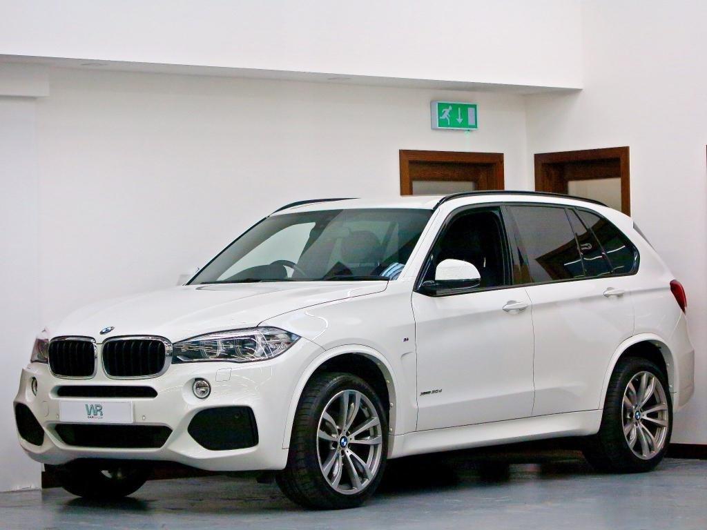 USED 2014 64 BMW X5 3.0 30d M Sport Auto xDrive (s/s) 5dr SAT NAV PRO + 20' ALLOYS