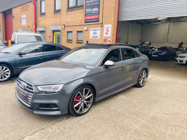 2017 66 AUDI A3 2.0L S3 QUATTRO 4d 306 BHP PAN ROOF ,VIRTUAL COCKPIT  STUNNING CAR ,SOLD SOLD TO LINDA FROM ROTHERHAM