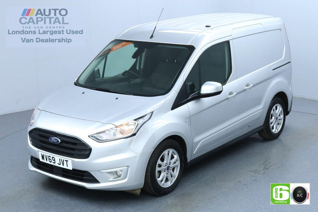 USED 2019 69 FORD TRANSIT CONNECT 1.5 200 Limited 120 BHP Auto L1 SWB 3 Seats Euro 6 Low Emission Finance Available Online | Reserve Online Now | Fully Sanitised |  UK Delivery