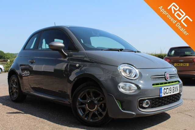 USED 2019 19 FIAT 500 1.2 SPORT 3d 69 BHP LIME EDITION VIEW AND RESERVE ONLINE OR CALL 01527-853940 FOR MORE INFO.