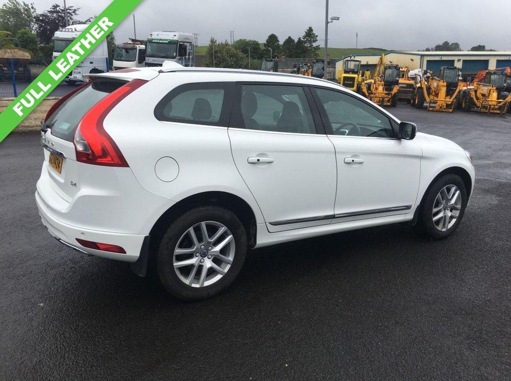 USED 2017 VOLVO XC60 2.0 D4 SE LUX NAV 5d 188 BHP