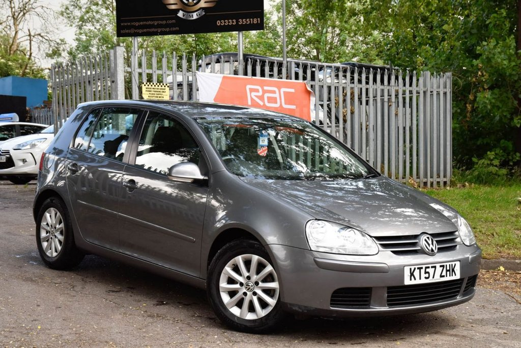 USED 2008 57 VOLKSWAGEN GOLF 1.9 MATCH TDI DSG 5d 103 BHP