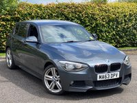USED 2013 63 BMW 1 SERIES 1.6 116I M SPORT 5d * 6 SPEED * LOW MILEAGE CAR * 12 MONTHS FREE AA MEMBERSHIP *