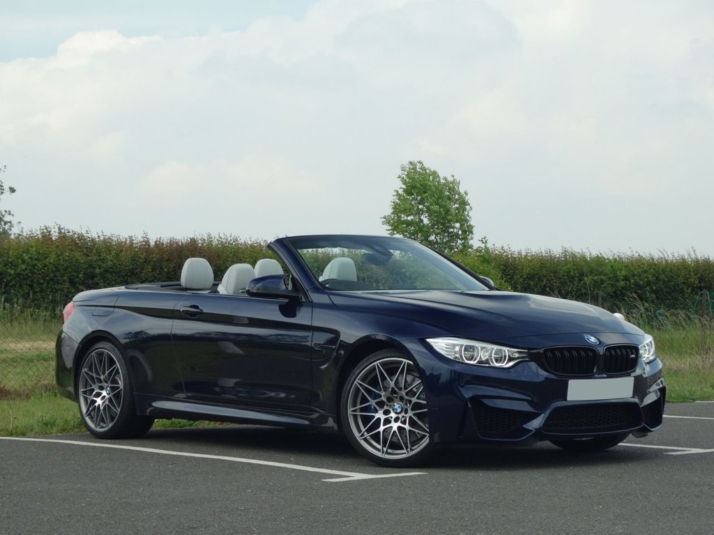 USED 2017 BMW M4 3.0 M4 COMPETITION PACKAGE 2d 444 BHP
