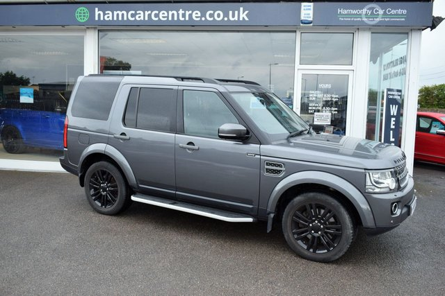 2015 15 LAND ROVER DISCOVERY 4 3.0 SDV6 COMMERCIAL XS 255 BHP