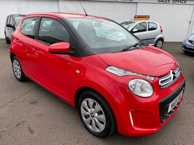 USED 2015 15 CITROEN C1 1.0 FEEL 5d 68 BHP