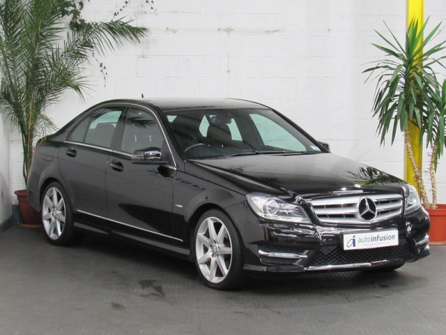 2012 12 MERCEDES-BENZ C-CLASS 2.1 C220 CDI BLUEEFFICIENCY SPORT 4d 168 BHP