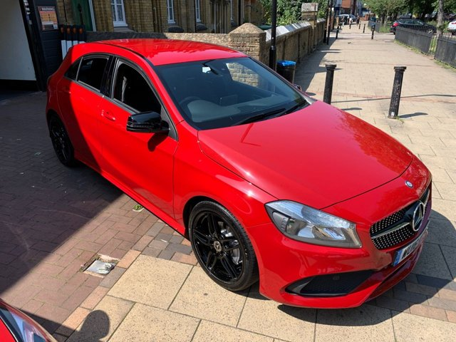 USED 2016 16 MERCEDES-BENZ A-CLASS 2.1 A 200 D AMG LINE 5d 134 BHP 1 OWNER , FULL SERVICE HISTORY, GREAT SPEC