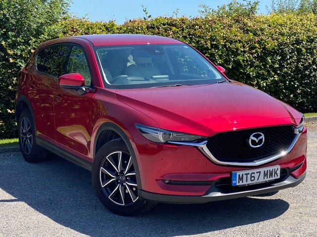 USED 2018 MAZDA CX-5 2.0 SPORT NAV 5d 163 BHP * 6 SPEED GEARBOX * SATELLITE NAVIGATION * 12 MONTHS AA BREAKDOWN COVER *