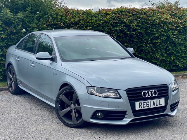 USED 2011 61 AUDI A4 2.0 TFSI BLACK EDITION 4d 208 BHP * 12 MONTHS FREE AA BREAKDOWN COVER *