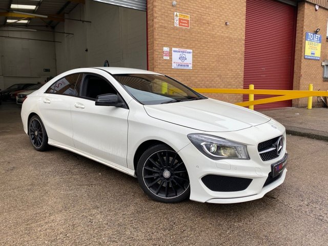 2014 64 MERCEDES-BENZ CLA 2.1L CLA220 CDI AMG SPORT 4d 170 BHP SAT NAV HEATED SEATS FULL MERC HISTORY SOLD TO TAMMY FROM LEICESTER