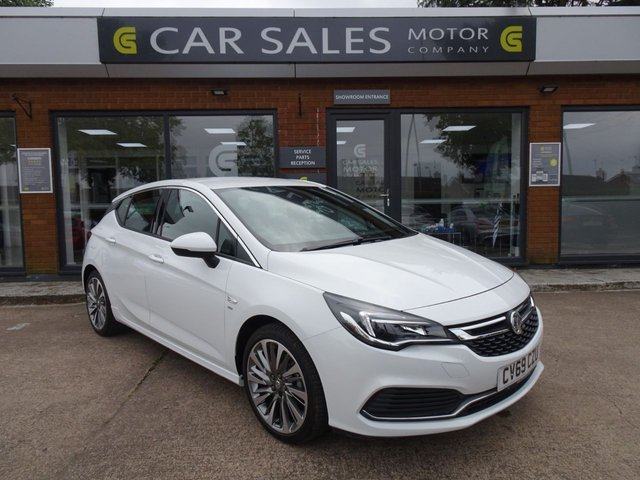 USED 2019 69 VAUXHALL ASTRA 1.4 SRI VX-LINE NAV S/S 5d 148 BHP CATEGORY N DAMAGED REPAIRED VEHICLE, SAT NAV, DAB RADIO, BLUETOOTH, USB/ I POD CONNECTIVITY, SUPER LOW MILEAGE ONLY 1,400 MILES!