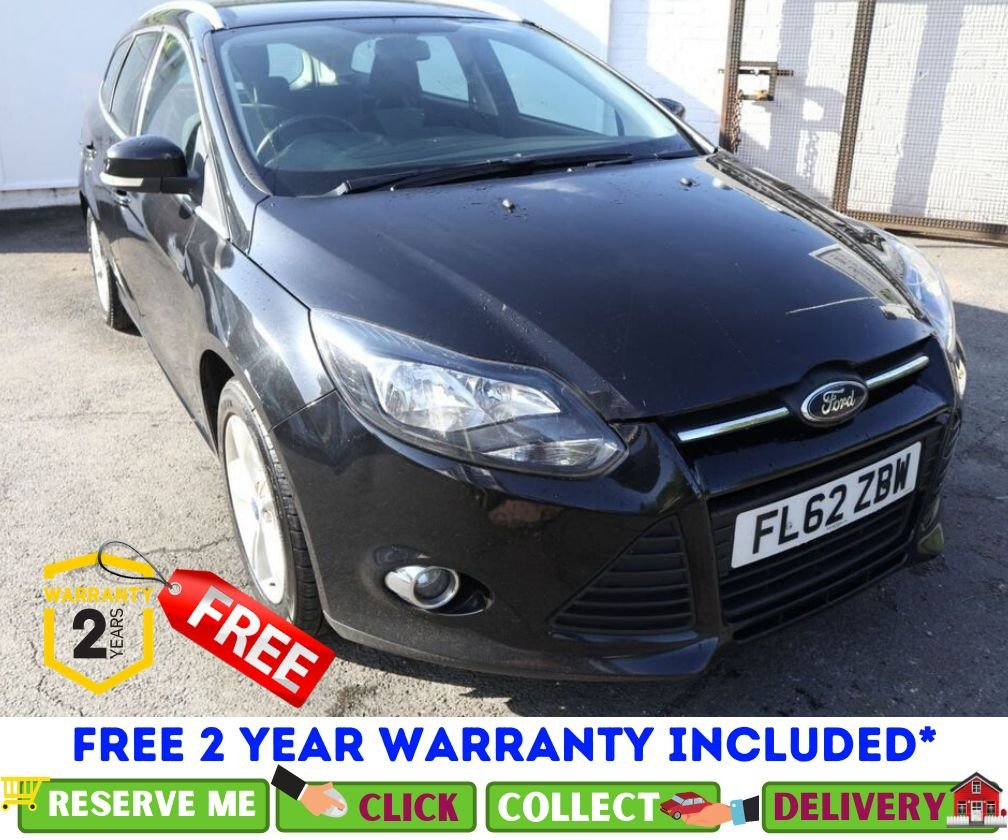 USED 2012 62 FORD FOCUS 1.6 ZETEC 5d 104 BHP *CLICK & COLLECT OR DELIVERY