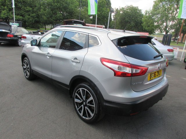 USED 2016 16 NISSAN QASHQAI 1.5 DCI TEKNA 5d 108 BHP ***FULL LEATHER....SAT NAV***